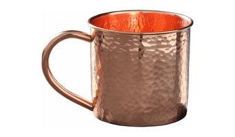 Pure Copper Hammered Mug