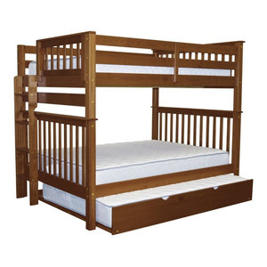 Donco Kids Varleigh Bunk Bed Dark Cappuccino Twin