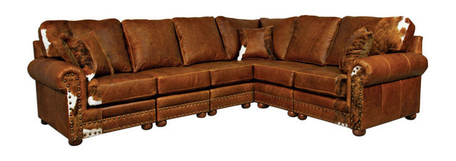 Western Sectional Leather Sofa