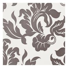 White/Black Modern Pattern Abstract Pasadena Wallpaper