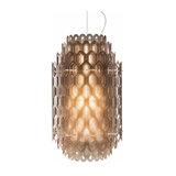 Multilayer Chantal designer hanging light orange