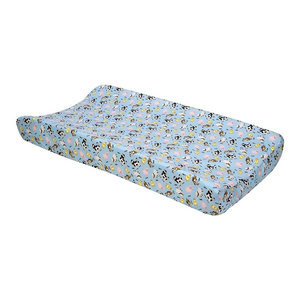 Trend Lab Plush Changing Pad Cover Green Forest Pals