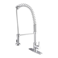 Le Bistro Pull-down Kitchen Faucet, Polished Chrome