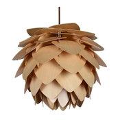 Wood Pendant Lamp, Large