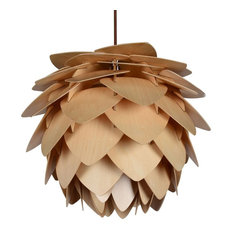 Wood Pendant Lamp, Large