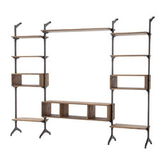 Four Hands Furniture - Hughes Ellwood Media Wall - Entertainment Centers and Tv Stands