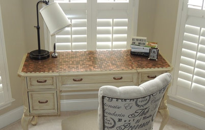 Reinvent It: Penny for Your Thoughts on This Antiqued Table?