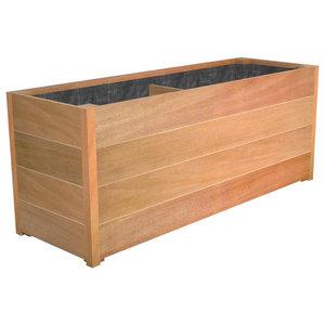 Adezz Hardwood Planter, Sevilla Trough, 200x50x60cm
