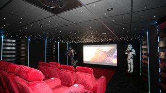 Salle cinéma privée