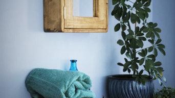 Handmade bathroom cabinets