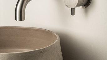 Miscelatore lavabo DIMENSIONE 74 di MINA