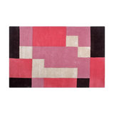 Concept Modern Gracie 01 Marshall Deep red Rectangle Modern Rug 120x170cm