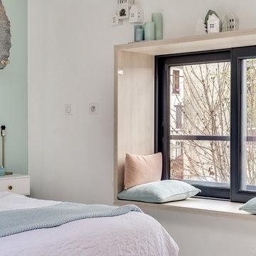 Réhabilitation d'anciennes écuries en un loft résidentiel