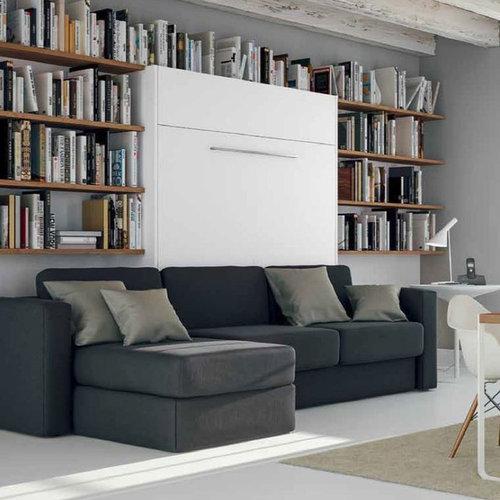 Armoire lit escamotable service de livraison et montage for Lit adulte et armoire