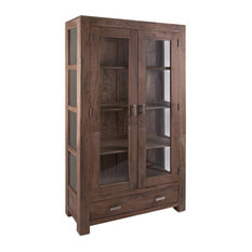 Benzara, Woodland Imprts, The Urban Port   Classy Looking Cohen Armoire    Armoires And