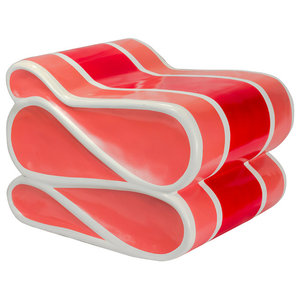 """25"""" Red Candy Ribbon"""