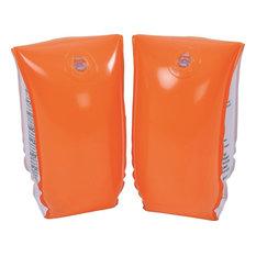Inflatable Swimming Pool Arm Floats, Set of 2, Orange
