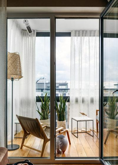 Современный Балкон и лоджия by Ann Kalkova