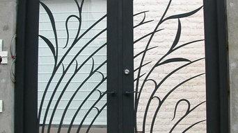 門扉、手摺