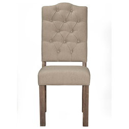 Transitional Dining Chairs by Alpine Furniture, Inc