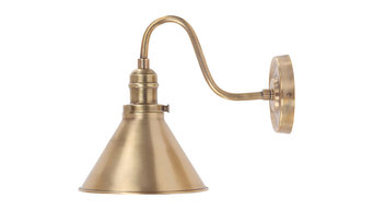 Provence 1-Light Wall Sconce, Aged Brass