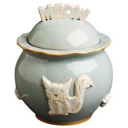 Eclectic Pet Bowls And Feeding by Carmel Ceramica