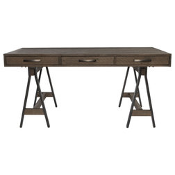 Industrial Desks And Hutches by Kosas
