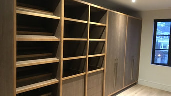 His and Hers Master Walk In Closet