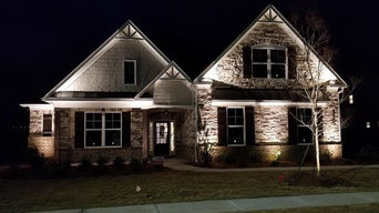 Front home uplighting