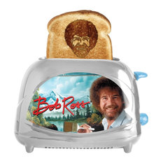 Bob Ross Toaster Joy of Painting - Toasts Bob's Iconic Face onto Your Toast