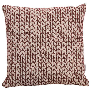 A.U. Maison Wheat Cushion Cover, Bordeaux, 30x50 cm