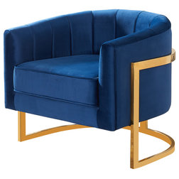 Contemporary Armchairs And Accent Chairs by Meridian Furniture