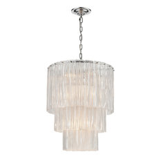 Diplomat 14 Light Chandelier in Chrome