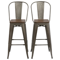 Industrial Bar Stools And Counter Stools by Btexpert