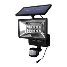 gama sonic usa solar security light with motion sensor outdoor flood and spot lights - Motion Sensor Outdoor Light