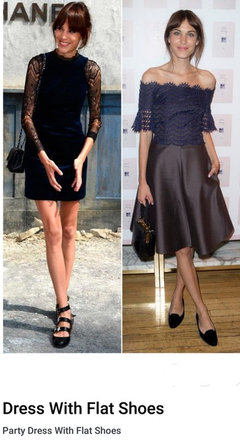 Dresses to Wear with Flat Shoes