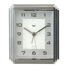 Westchester Chrome-Plated Alarm Clock Gotham, Gotham