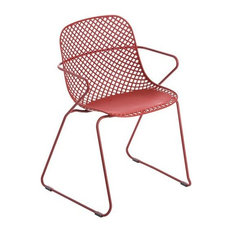 Remy Stacking Outdoor Armchair, Red