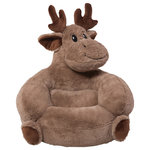 Trend Lab - Trend Lab Children's Plush Moose Character Chair - The Trend Lab Children's Plush Moose Character Chair brings delightful whimsy to your little one's world and to any room of the house. The Moose chair is a cuddly companion for reading, relaxing and snuggling thanks to its perfect size, soft plush faux fur and contoured support. Chair measures 21 in x 19 in x 19 in and is suitable for most children.