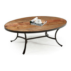 Emerald Home Berkeley Tail Table Oval Coffee Tables