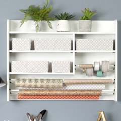 corner shelves walmart decorating bookshelves hutch lowes.htm making a craft room  keeping the treadmill what kind of furniture     making a craft room  keeping the
