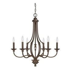 Capital Lighting Leigh 6-Light Chandelier