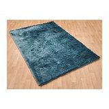Whisper Aqua Rectangle Plain/Nearly Plain Rug 65x135cm