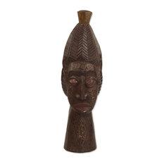 Novica Basasa Marriage African Wood Mask