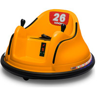 Race #00-99 6V Kids Toy Electric Ride On Bumper Car ASTM-certified, Orange