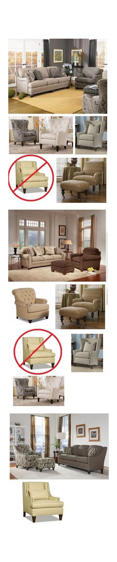 Iu0027ve Posted Both Of Your Sofa Selections With A Variety Of Arm Chairs That  IMO Complement The Sofas. Iu0027ve Included A Sofa That Complements Your Chair  ...