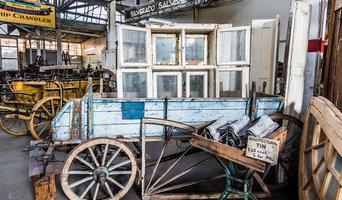 Farm Wagons, Box Window & Signs