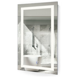 Modern Bathroom Mirrors by Krugg Reflections