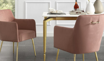 Up to 70% Off Upholstered Dining Chairs