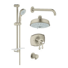 Grohe 35 054 GrohFlex Thermostatic Shower System, Includes Valve Trim